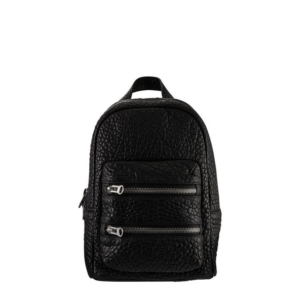 Racketeer Backpack- Black Bubble