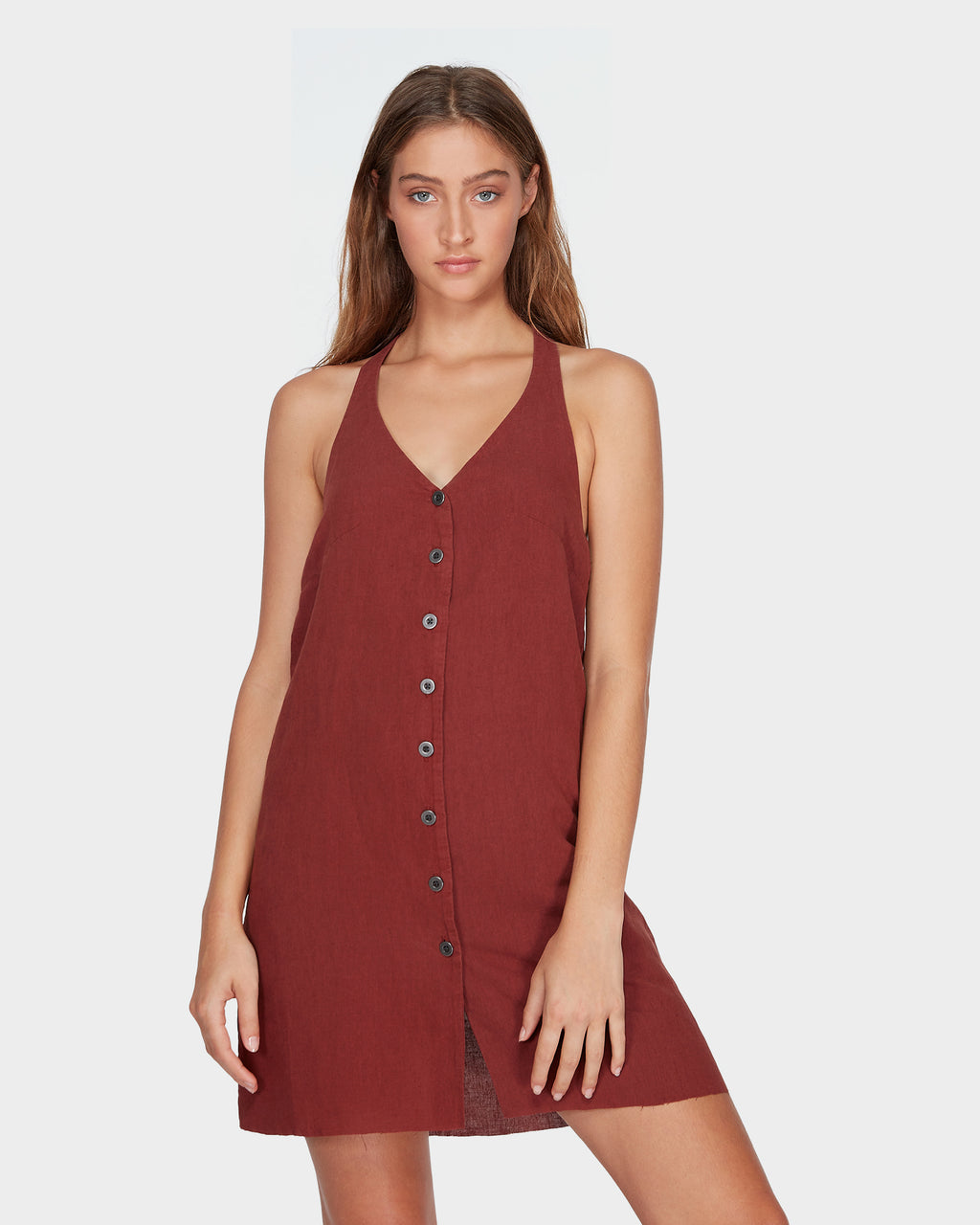 RVCA Ladies Holt Dress - Front