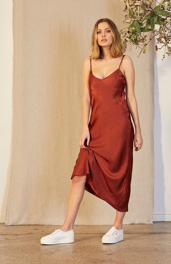 Staple Ladies Haighs Slip Dress - Front