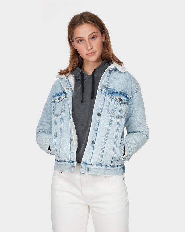 RVCA Ladies Acid Merc Jacket - Front