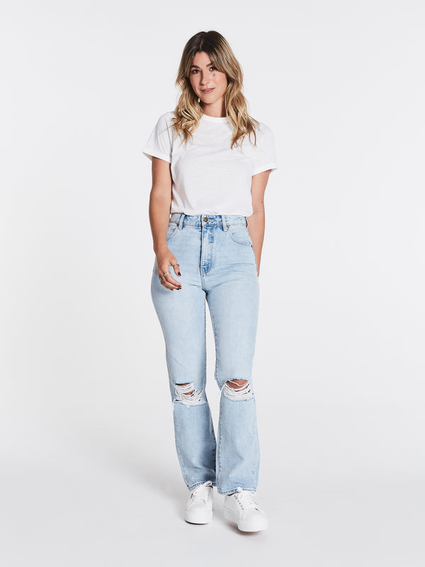 Rollas Ladies Original Straight Jeans - Front