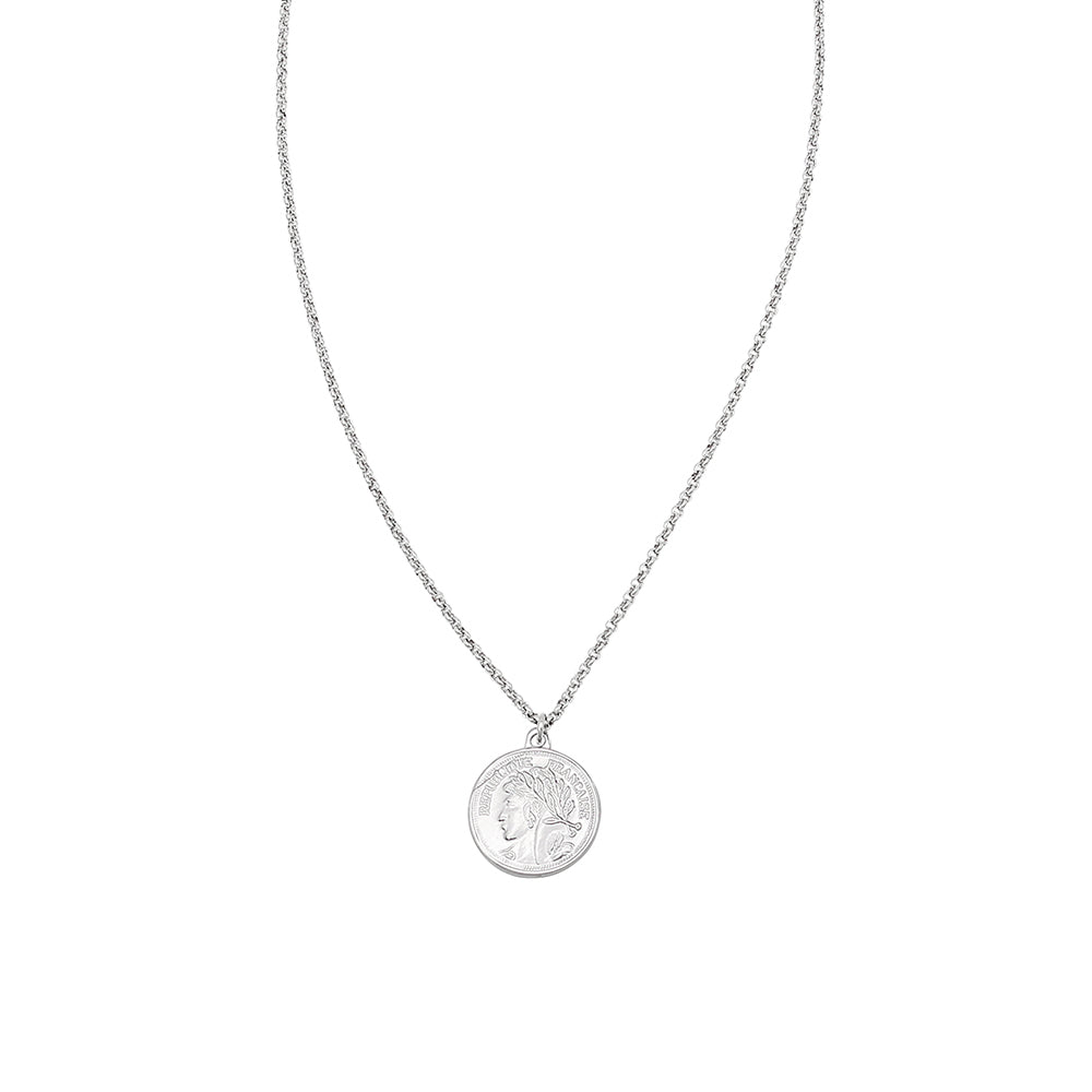 Jolie & Deen Republique Coin Necklace
