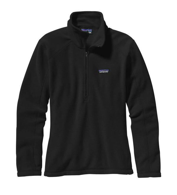 Patagonia Ladies Micro D 1/4 Zip Jumper - Front