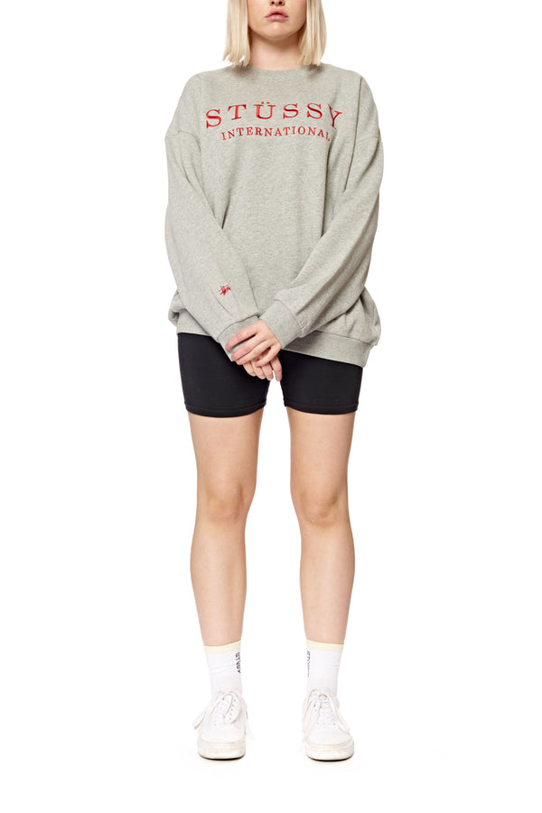 Stussy Ladies Sanders Oversized Crewneck