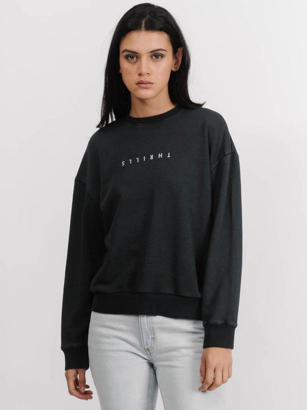 Thrills Ladies Minimal Thrills Crewneck