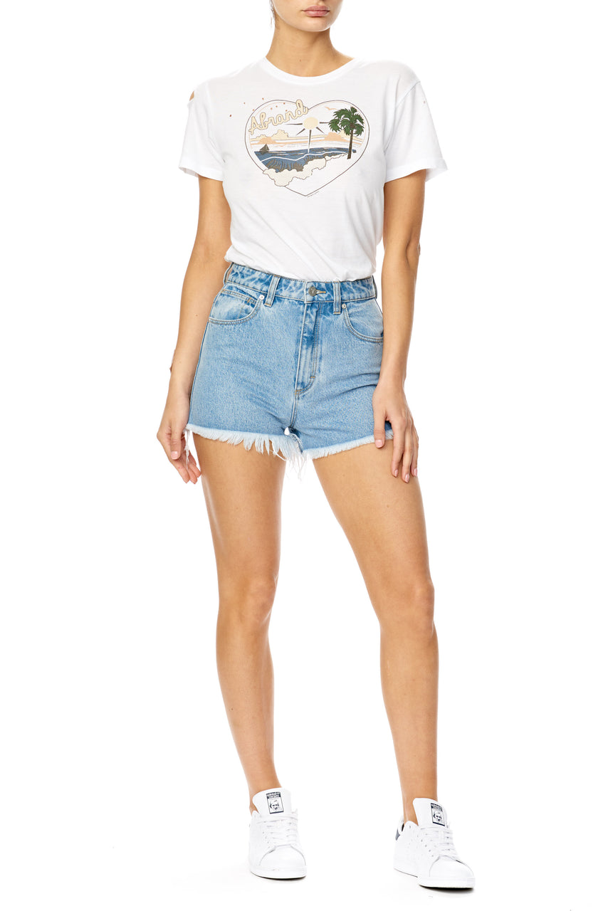 Abrand Ladies High Relaxed Shorts - Front