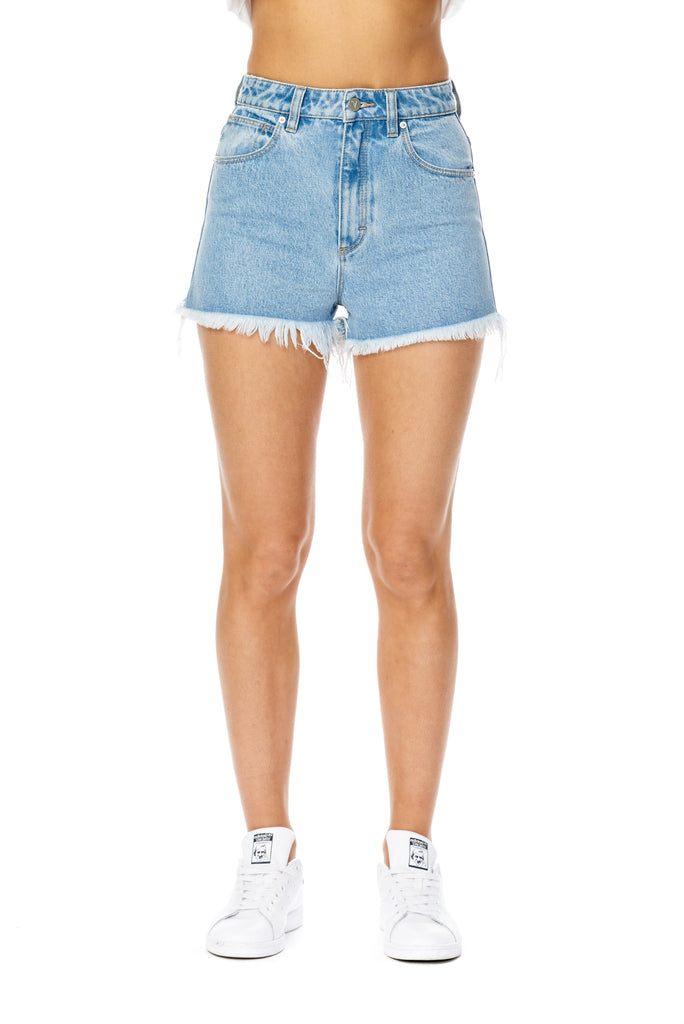 Abrand High Relaxed Shorts- Esmeralda