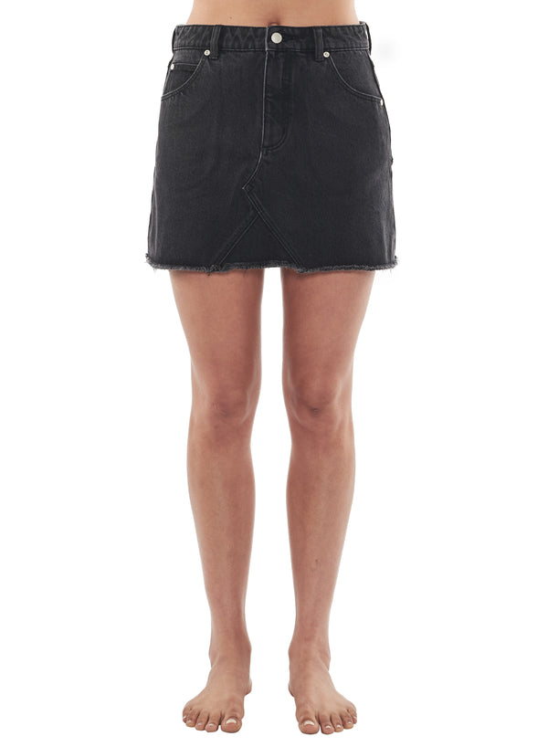 Rollas Claudia Skirt- Chrissy Black