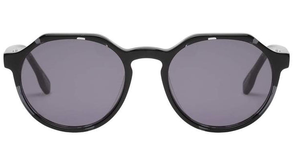 Le Specs Bang Sunnies- Charcoal Agate - Front