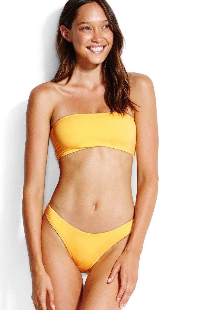 Seafolly Active Tube Top- Buttercup