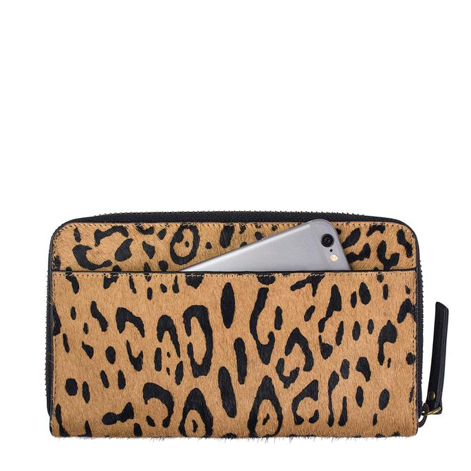 Status Anxiety Delilah Wallet- Leopard