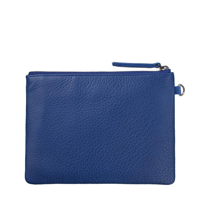 Status Anxiety Womens Fixation Clutch- Blue