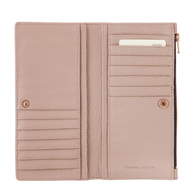 Status Anxiety In The Beginning Wallet- Pink