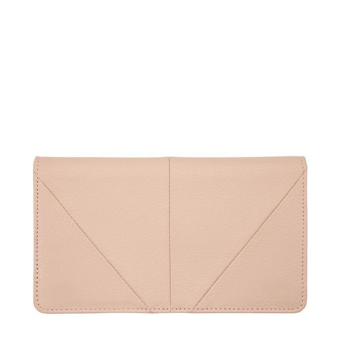 Status Anxiety Womens Triple Threat Wallet- Dusty Pink