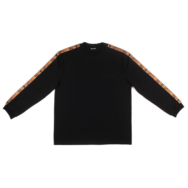 Pass~Port Mens International Embroidery Ribbon LS Tee