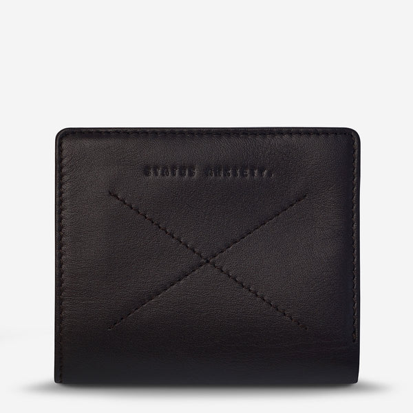 Status Anxiety Mens Clifford Wallet Choc