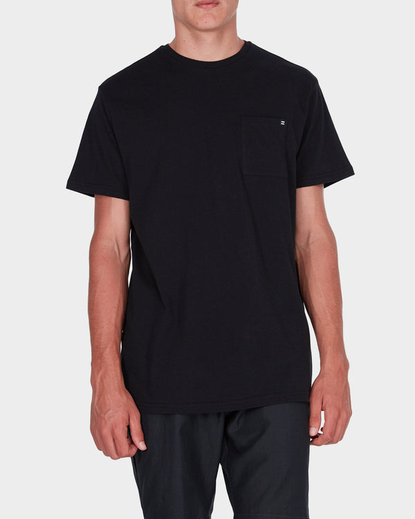 Billabong Mens Premium Pocket SS Tee - Front