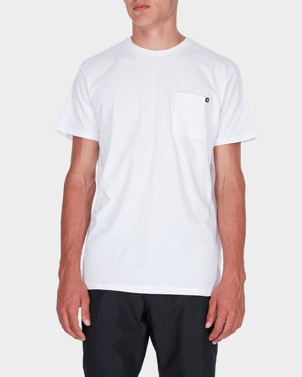 Billabong Mens Premium Pocket SS Tee - Home
