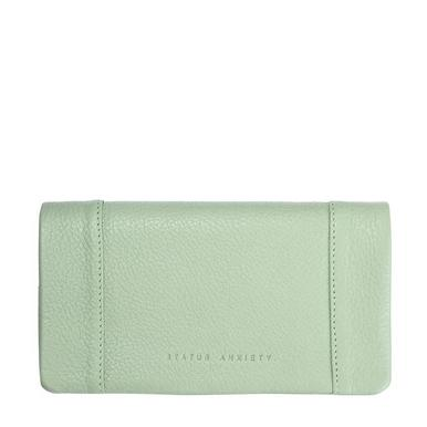 Status Anxiety Some Type Of Love Wallet- Mint