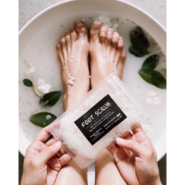 Foot Scrub - Simple Natural Balms