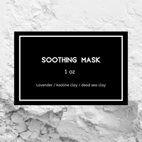 Soothing Face Mask - Simple Natural Balms
