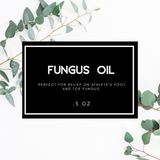 Fungus Oil - Simple Natural Balms