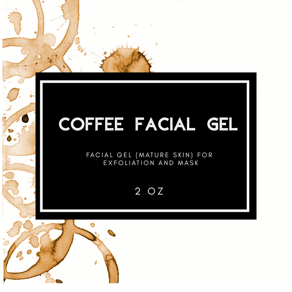 Coffee Facial Gel - Simple Natural Balms