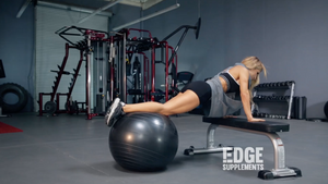 Top 3 Stability-Ball Moves!