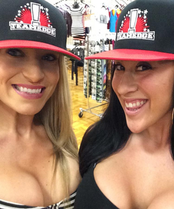 Team Edge Red & Black Snapback Hat