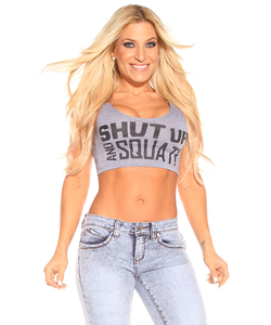 Shut Up And Squat Crop Top