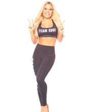 Load image into Gallery viewer, Team Edge Sports Bra + Full Length Fitness Pants Bundle