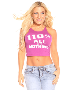 110% All Or Nothing Crop Top