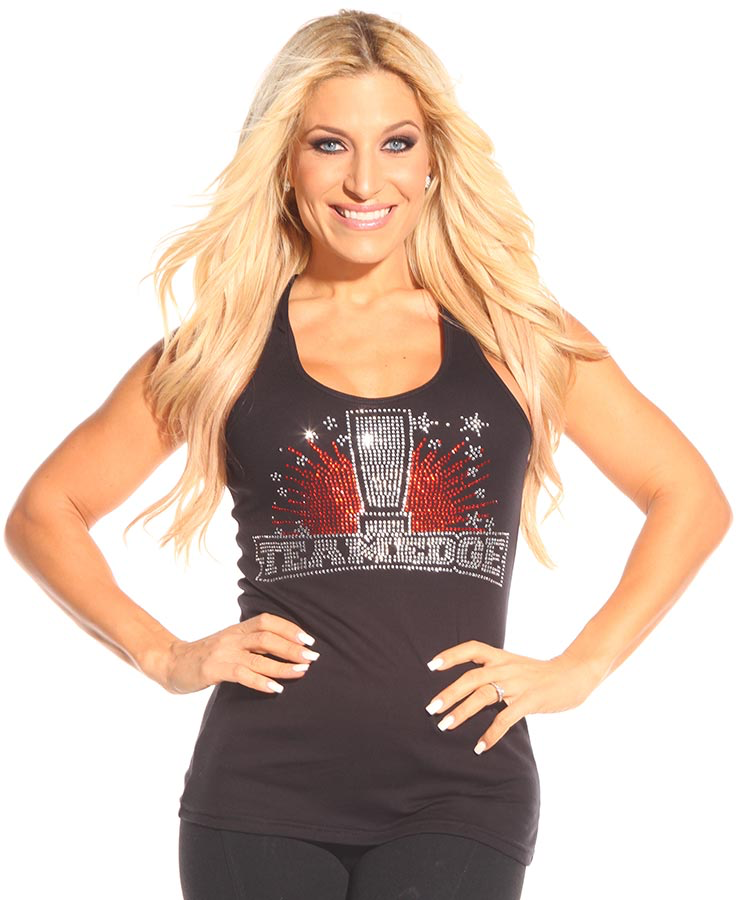 Team Edge Rhinestone Tank
