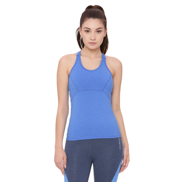 Women's Organic Cotton Tank top With Attached Sports Bra - Ace Tank
