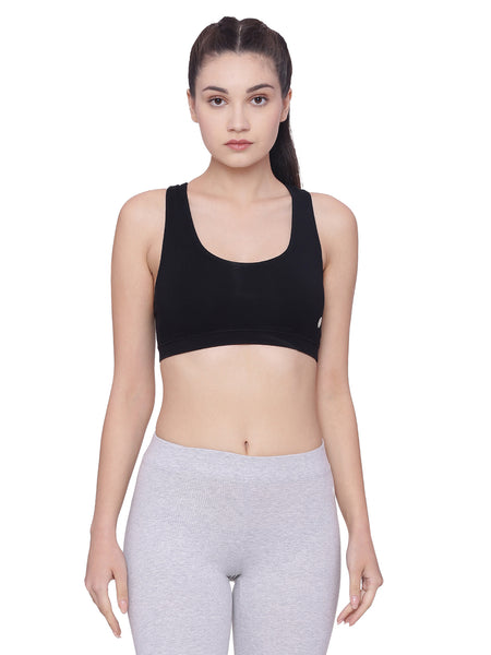 Women's Organic Cotton Sports Bra - Chaser Bra