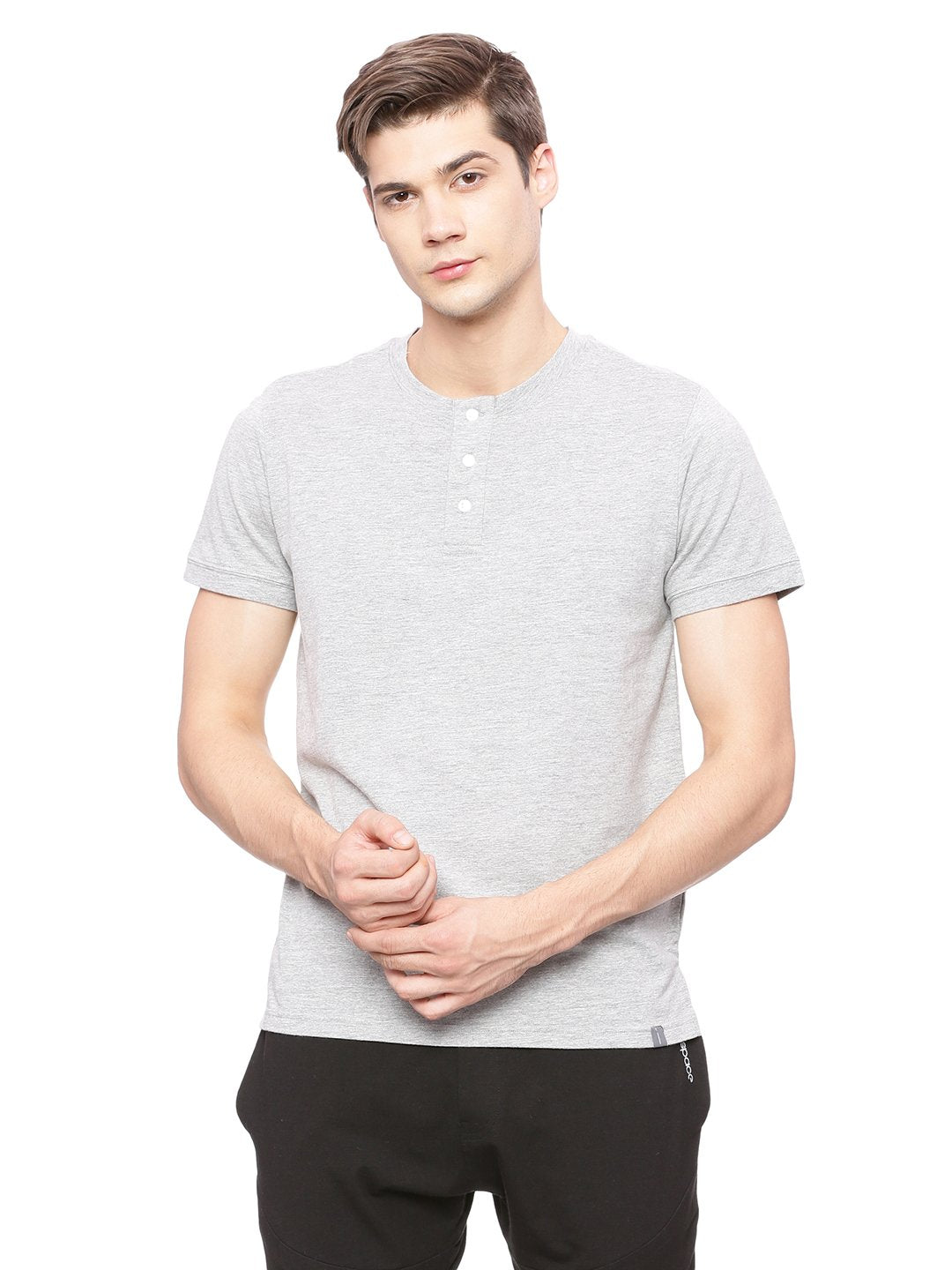 Active Henley T Shirt