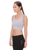 Women's Organic Cotton Padded Sports Bra - Wonder Bra