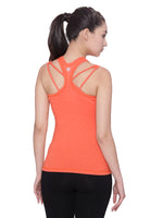 Sporty Tank Top with Sports Bra