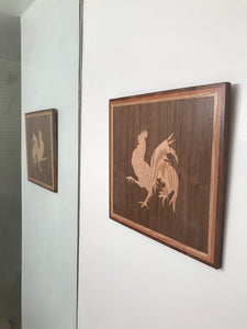 Rooster inlay