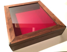 Custom Wooden Display case