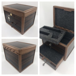 Custom wooden Gun box