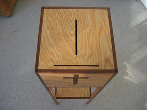 Wooden Prayer box with stand