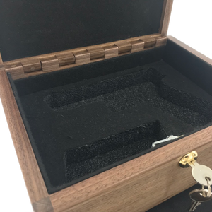 Made to order Custom wooden Gun box