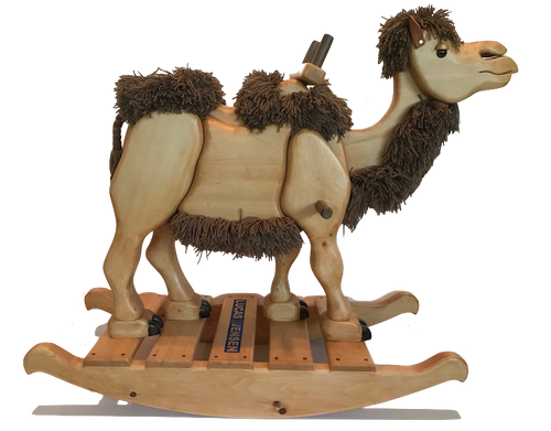 Wooden Rocking Camel
