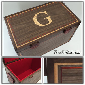 Hand Made Wooden Keepsake box