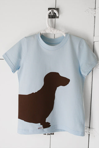 Sausage Dog Blue