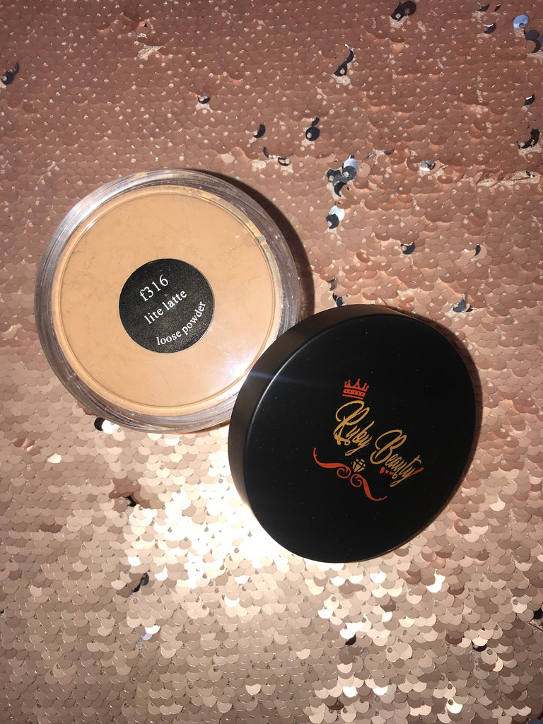 Lite Latte Loose Powder - rubybeautycle
