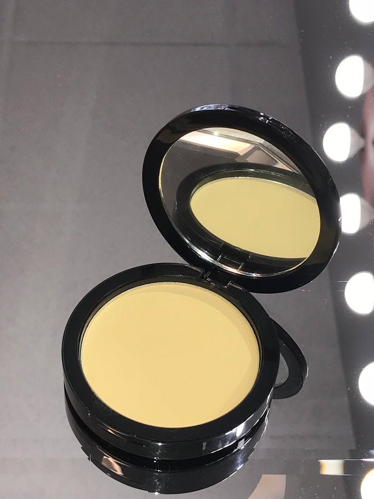 Yellow Color Correcting Powder - rubybeautycle