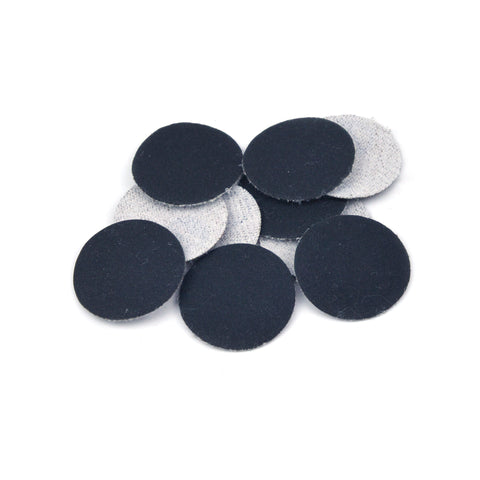 "1"" 320 Grit Silicon Carbide Wet/Dry Hook & Loop Sanding Discs, 10 Discs"