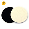 "6"" (150mm) Velcro Polishing Woolen Felt Discs"